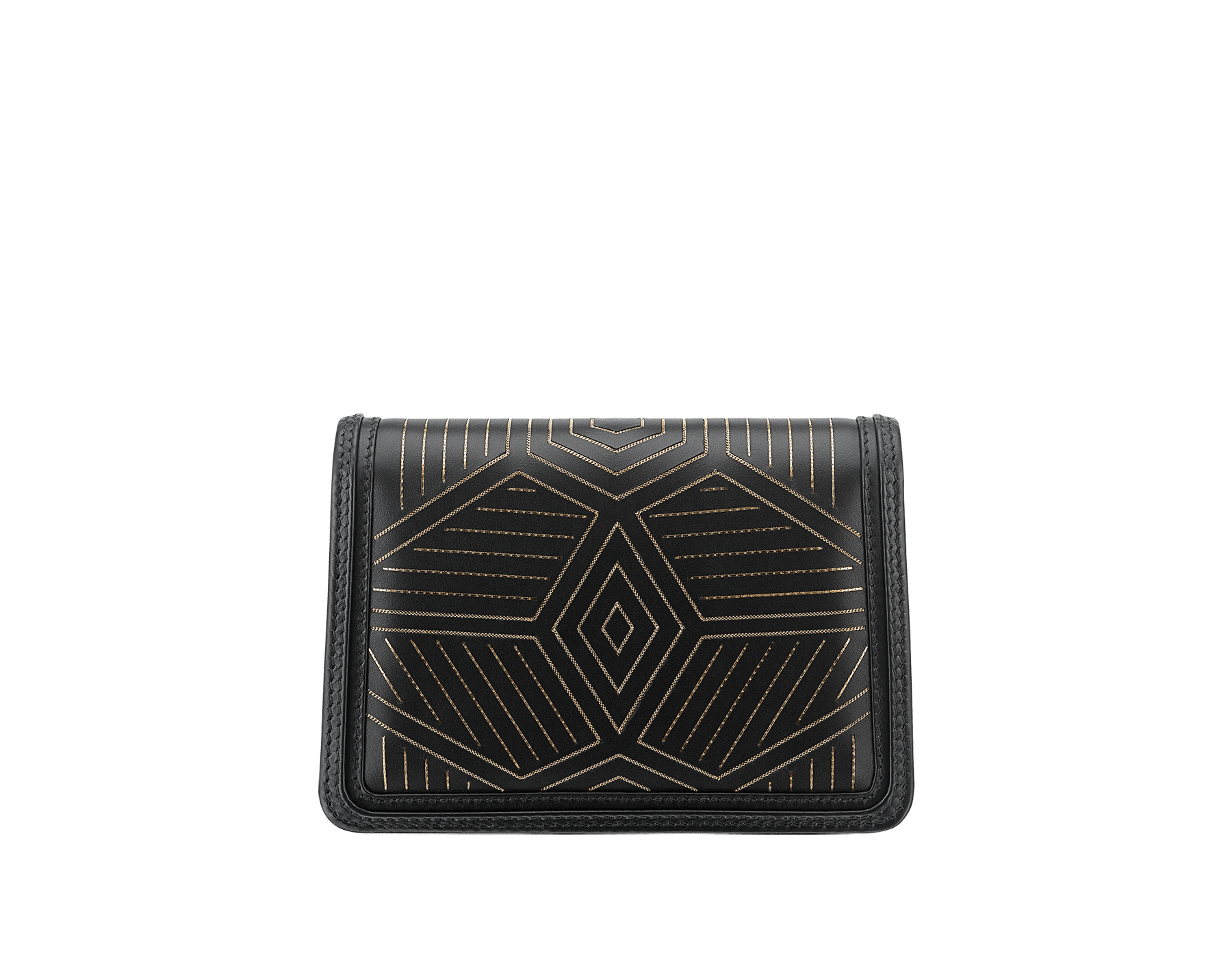 """Serpenti Diamond Blast"" shoulder bag in white agate calf leather, featuring a Whispy Chain motif in light gold finishing. Iconic snakehead closure in light gold-plated brass enriched with black and white agate enamel and black onyx eyes. 987-WC image 3"