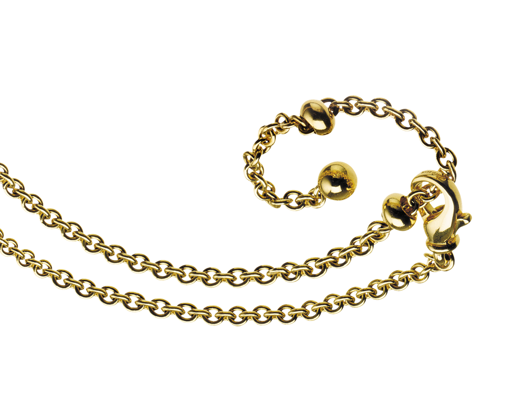 Catene chain in 18 kt yellow gold 335074 image 1