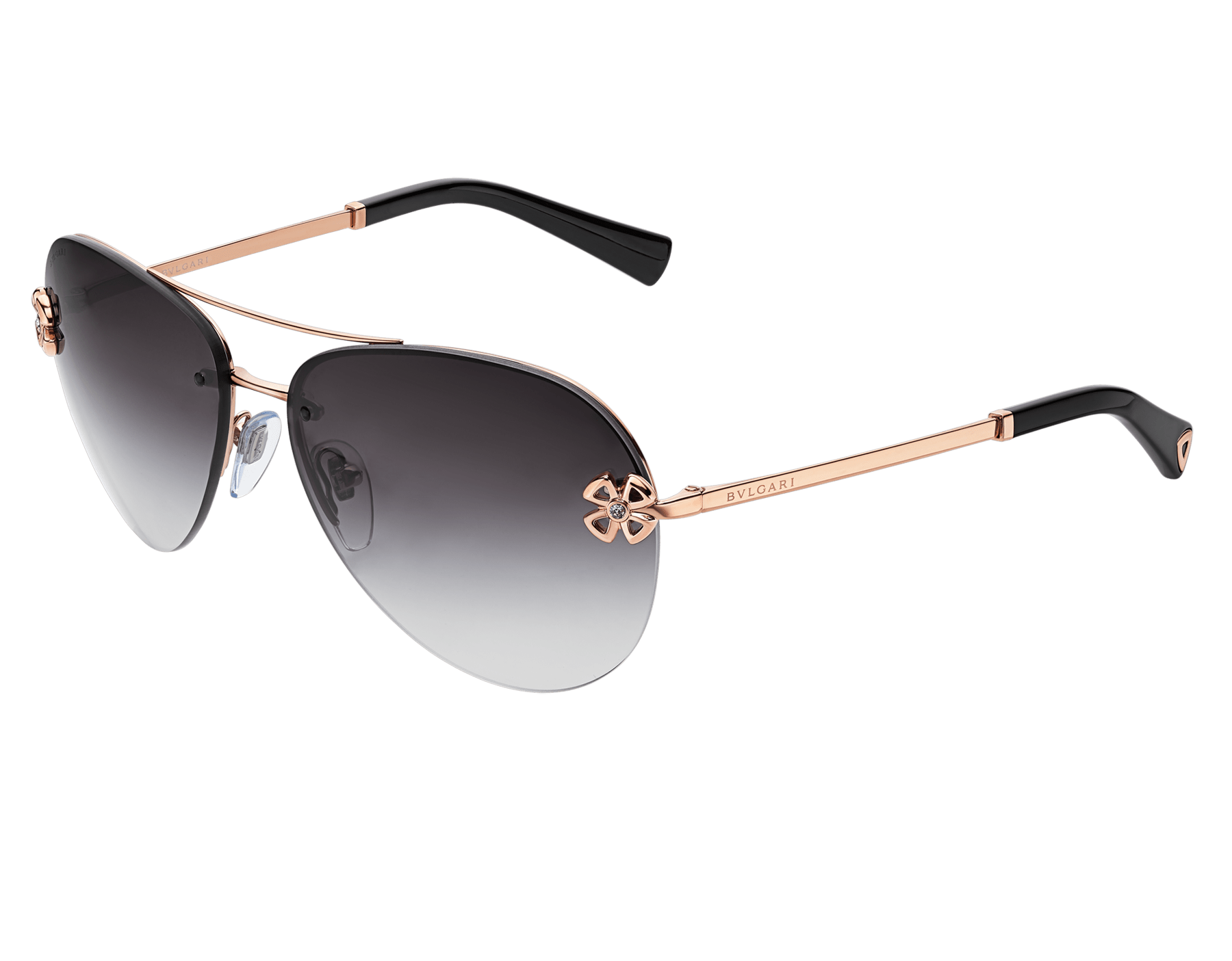Bulgari Fiorever double bridge aviator sunglasses. 903999 image 1