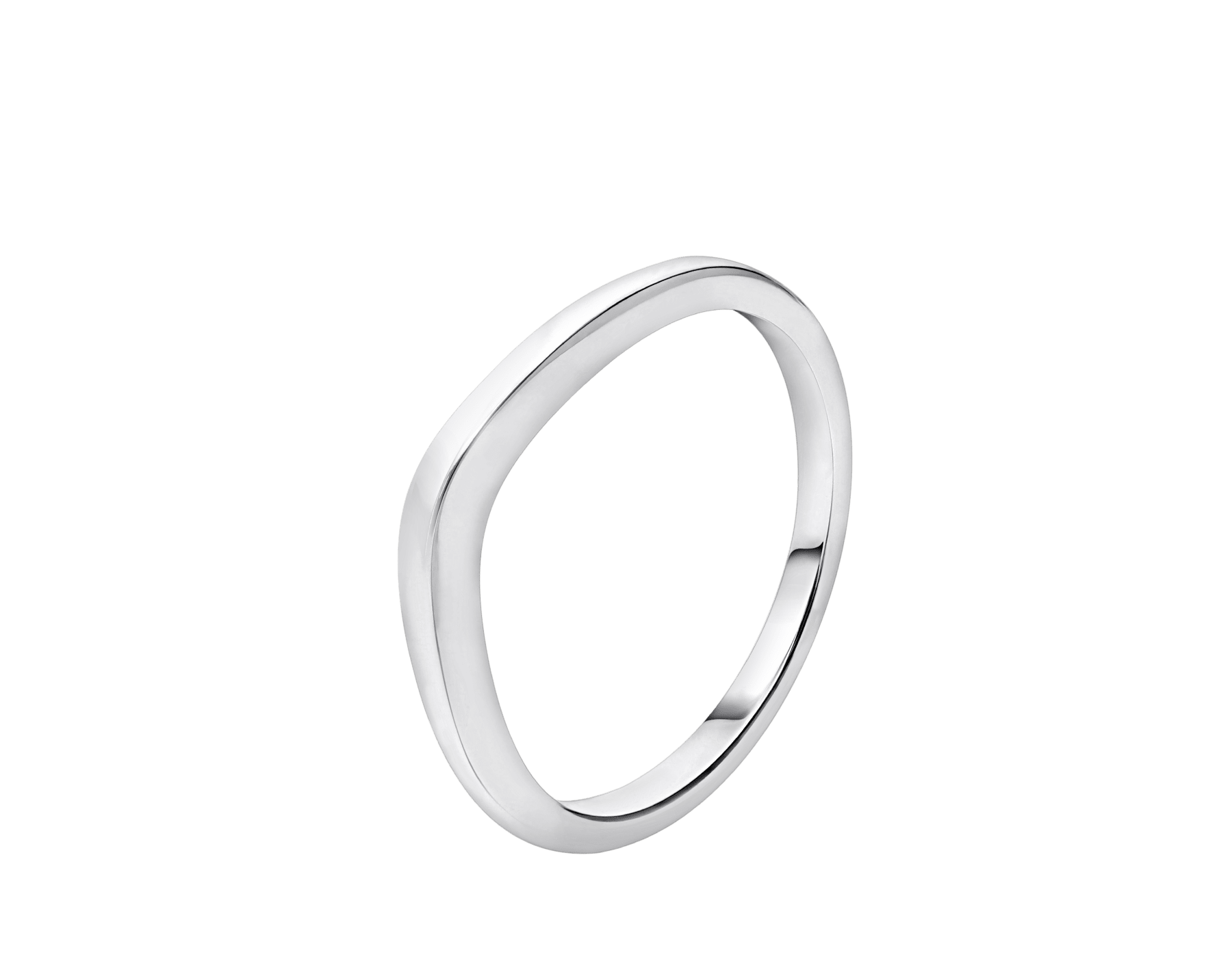 Corona wedding band in platinum AN856075 image 1