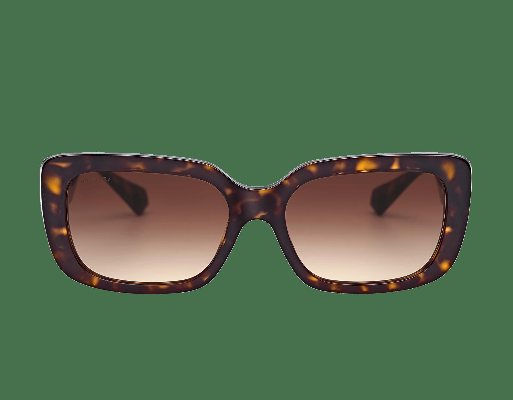 نظارات شمسية بولغري سيربنتيباك تو سكيل مستطيلة الشكل من الأسيتات. 903994 image 2