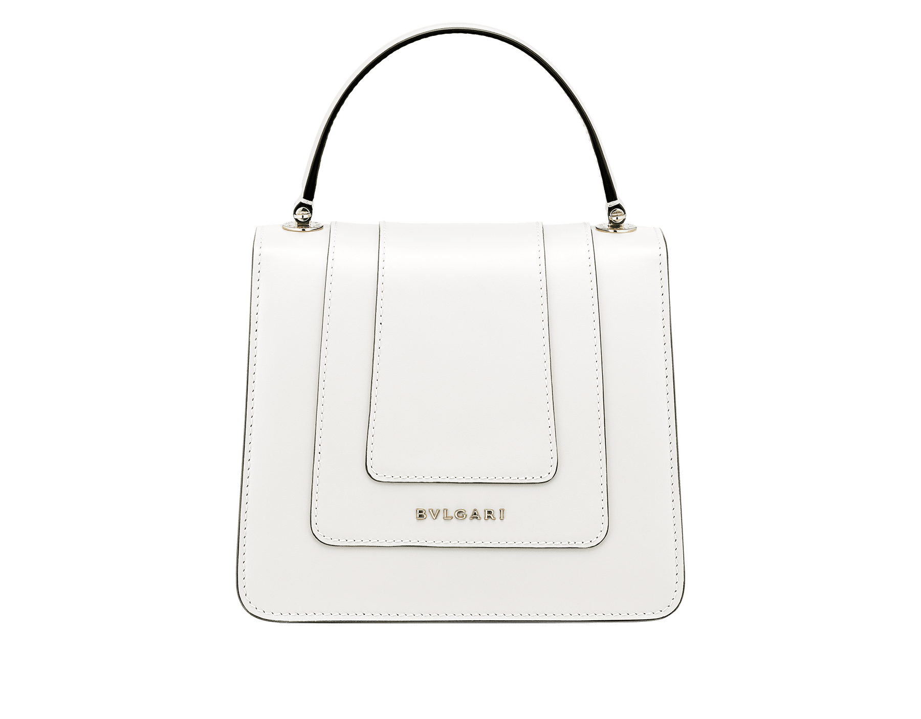 """Serpenti Forever"" crossbody bag in crystal rose calf leather. Iconic snakehead closure in light gold plated brass enriched with black and white enamel and green malachite eyes 752-CLa image 4"