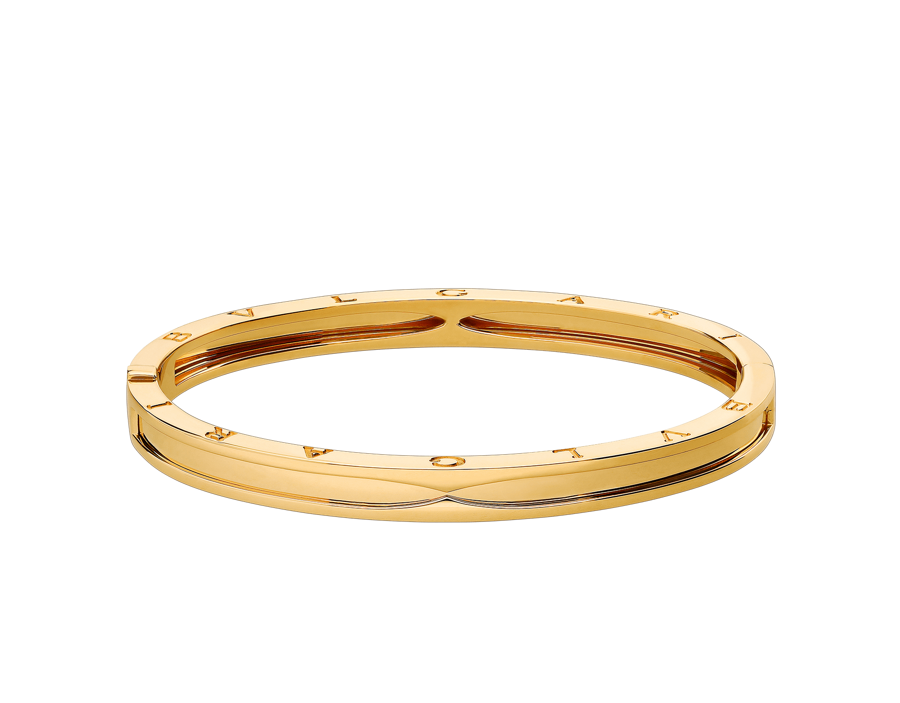 B.zero1 bangle bracelet in 18 kt yellow gold. BR857482 image 2