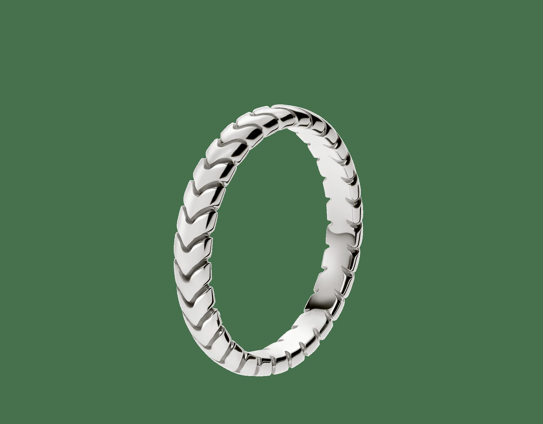 スピガ ウェディング・リング。プラチナ製結婚指輪。(3mm幅) AN856816 image 1