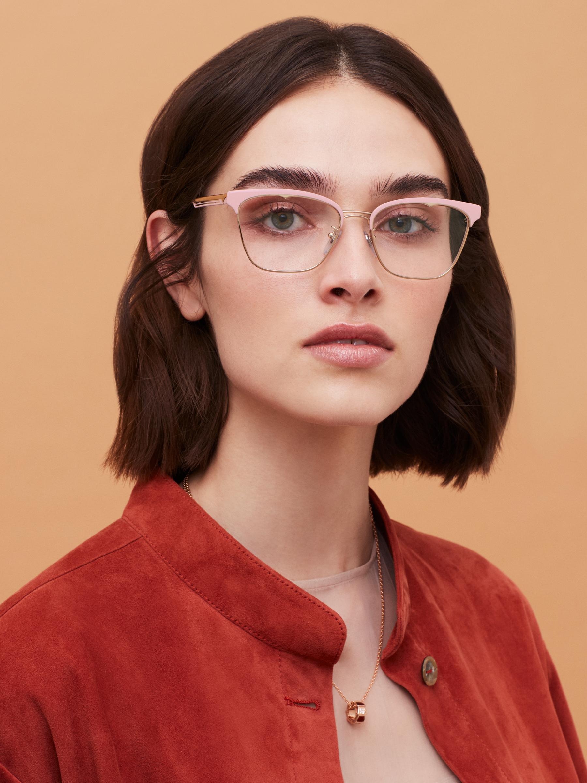 نظارات بولغري بي.زيرو1 بي.غلاسي-أب معدنية مستطيلة الشكل. 904015 image 3