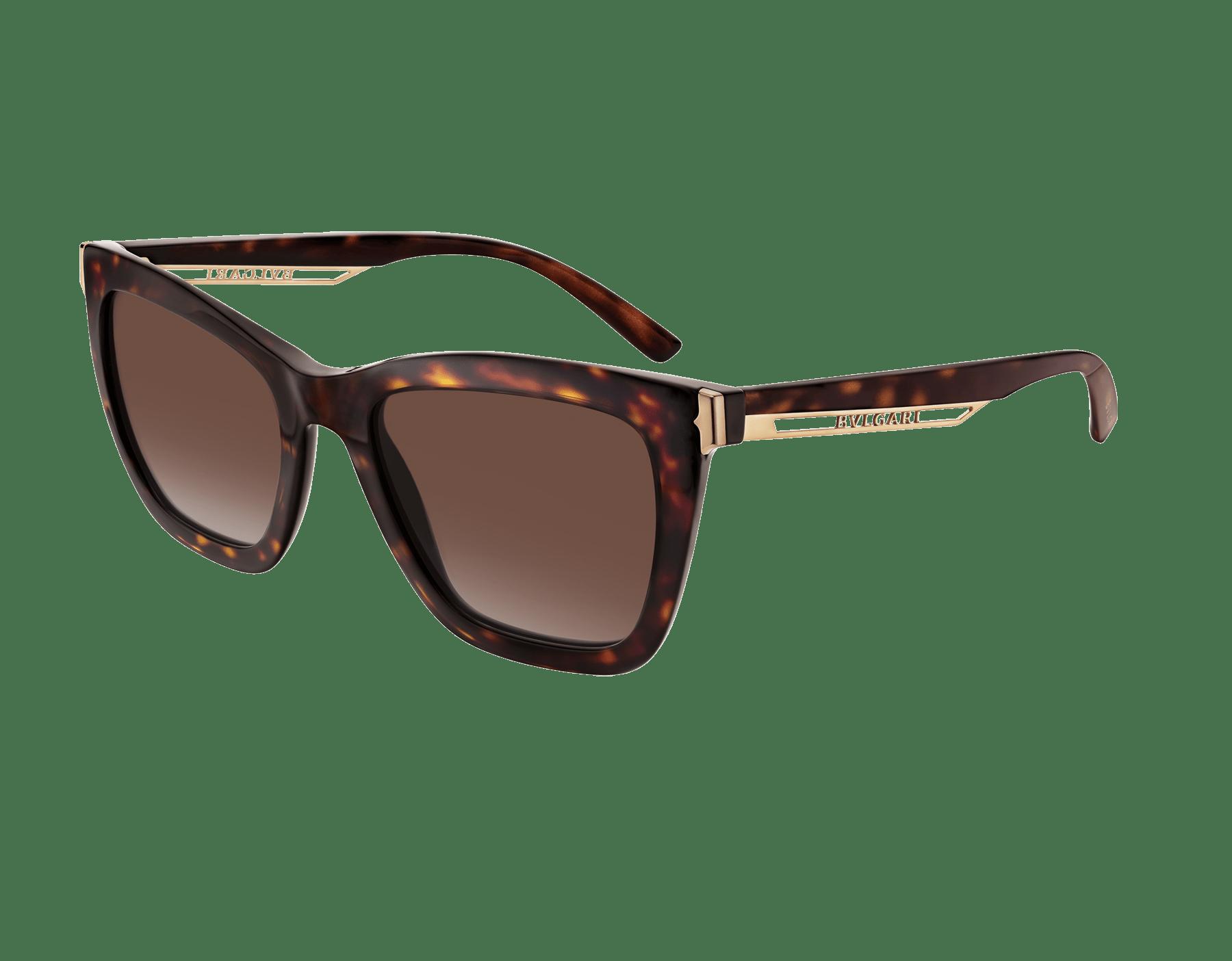 "B.zero1 ""Downtown"" rectangular acetate sunglasses 904076 image 1"