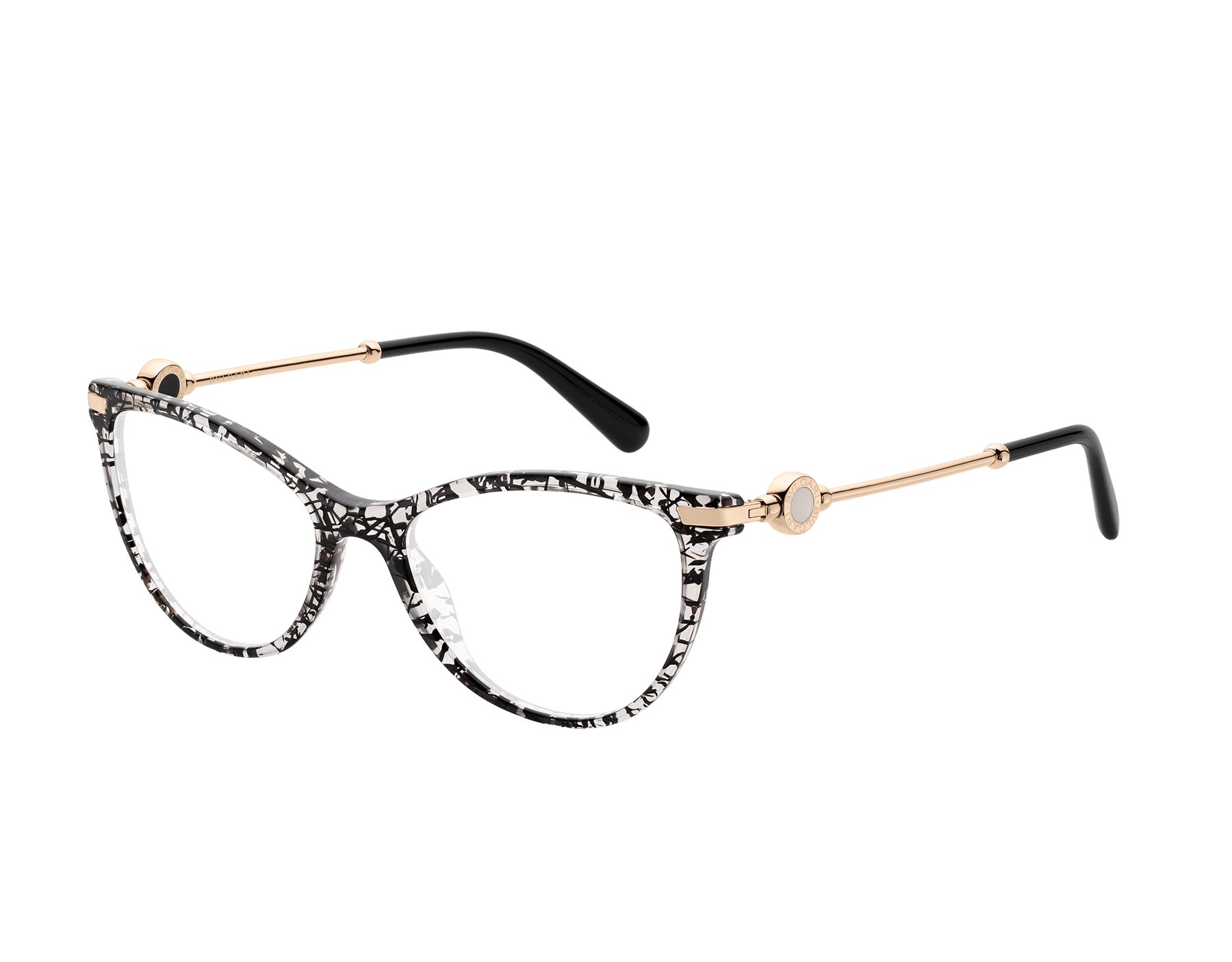 Bulgari Bulgari soft cat-eye acetate eyeglasses. 903631 image 1