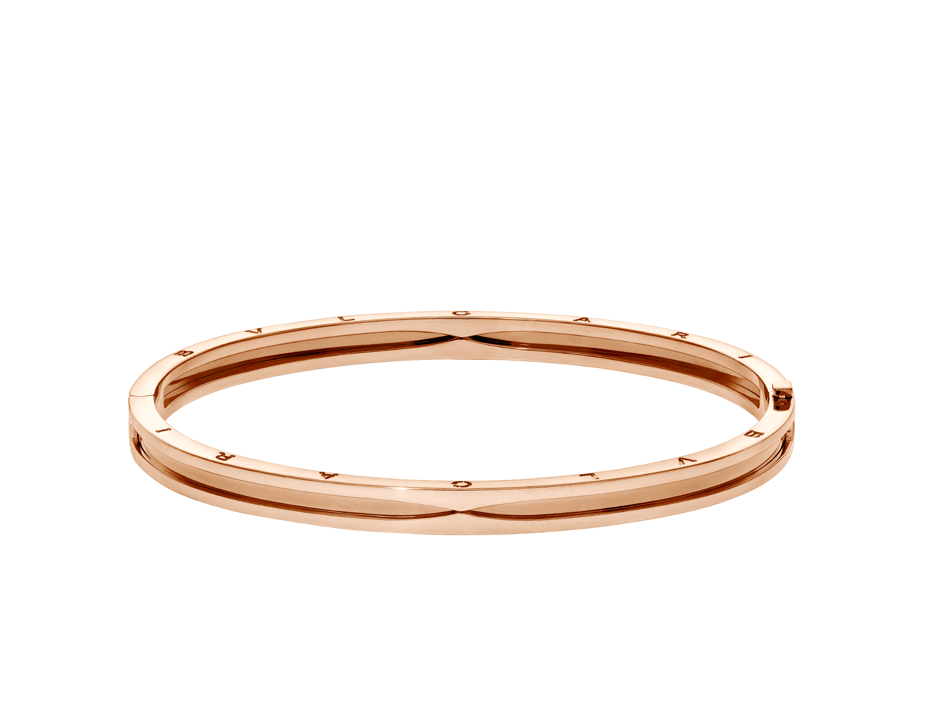 B.zero1 18 kt rose gold bangle bracelet BR858667 image 2
