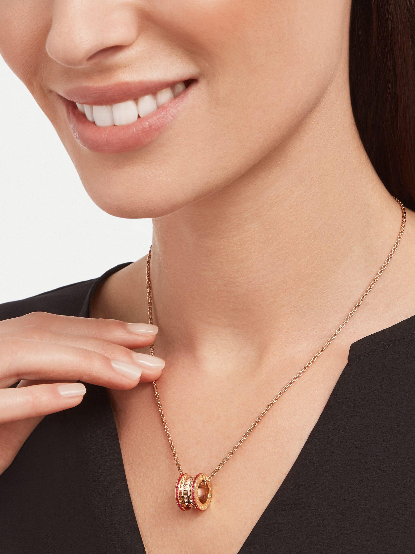BVLGARI BVLGARI 18K 玫瑰金翻轉式戒指,鑲飾翡翠和密鑲鑽石。 358306 image 5