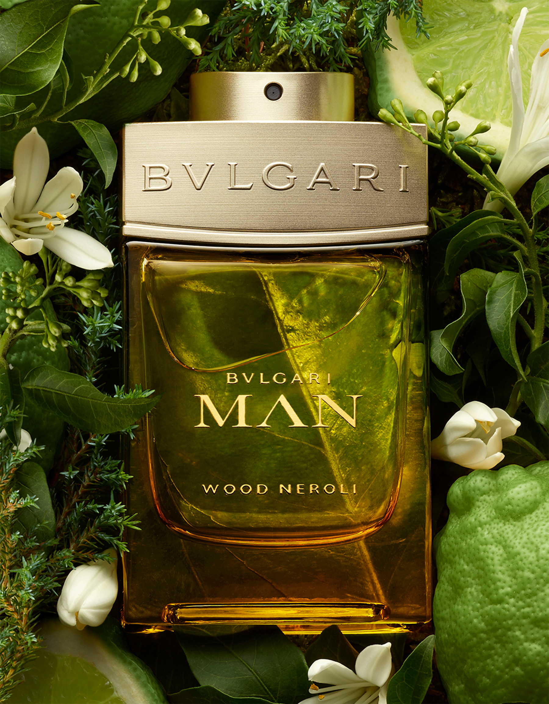 A vibrant and fresh citrus-infused Eau de Parfum. A solar woody fragrance symbolizing a powerful link between earth and light 40389 image 3