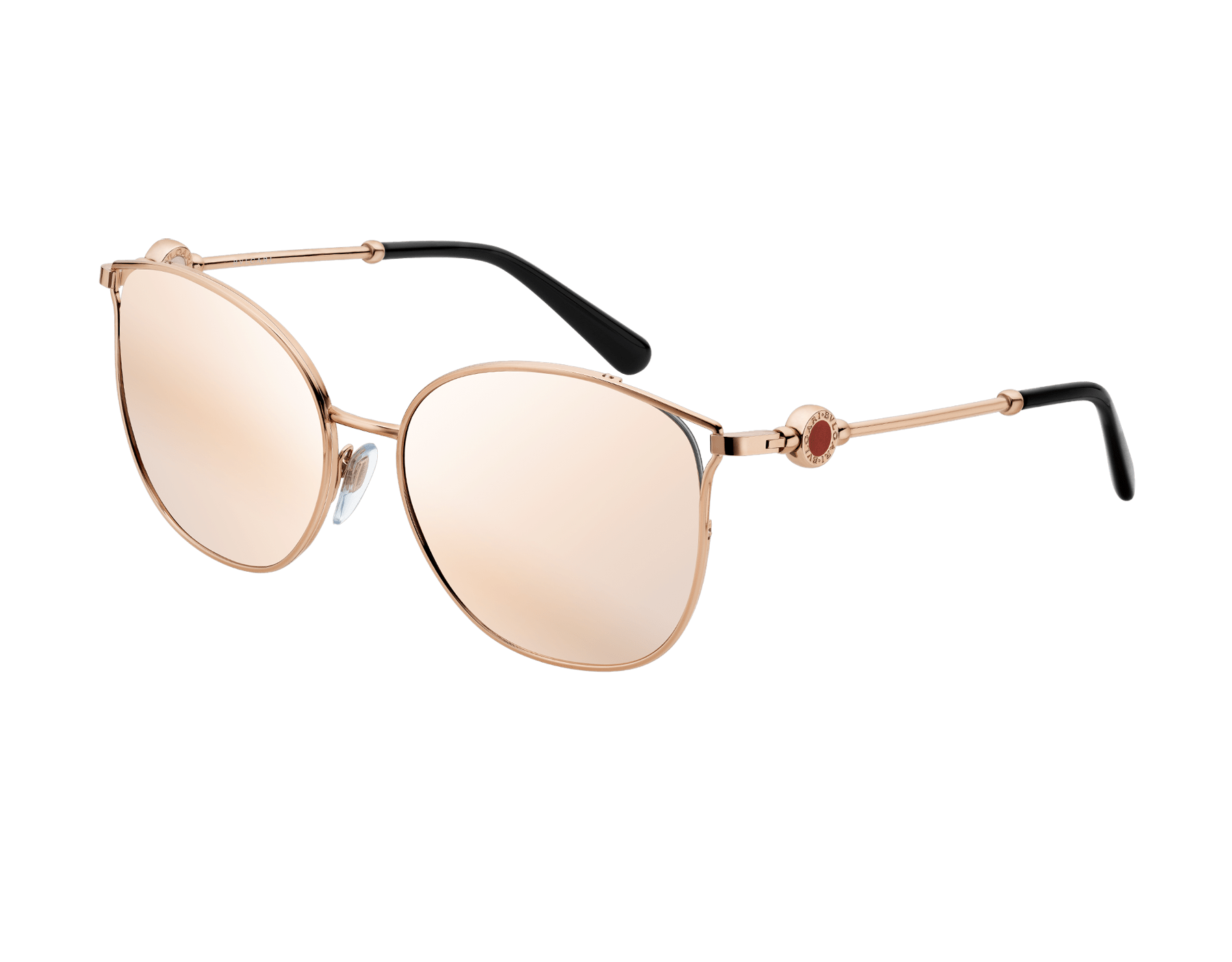 BVLGARI BVLGARI rounded cat-eye metal sunglasses 903665 image 1