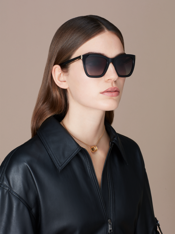 """Óculos de sol B.zero1 """"Downtown"""" retangular em acetato 904074 image 3"""