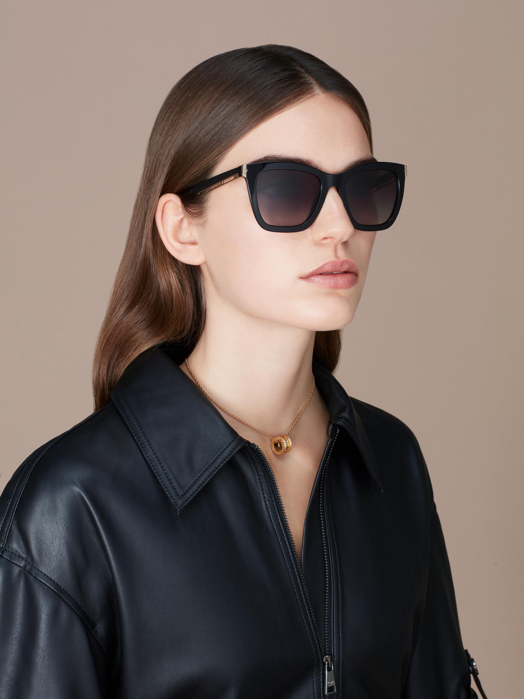 "Gafas de sol B.zero1 ""Downtown"" rectangulares en acetato 904074 image 3"