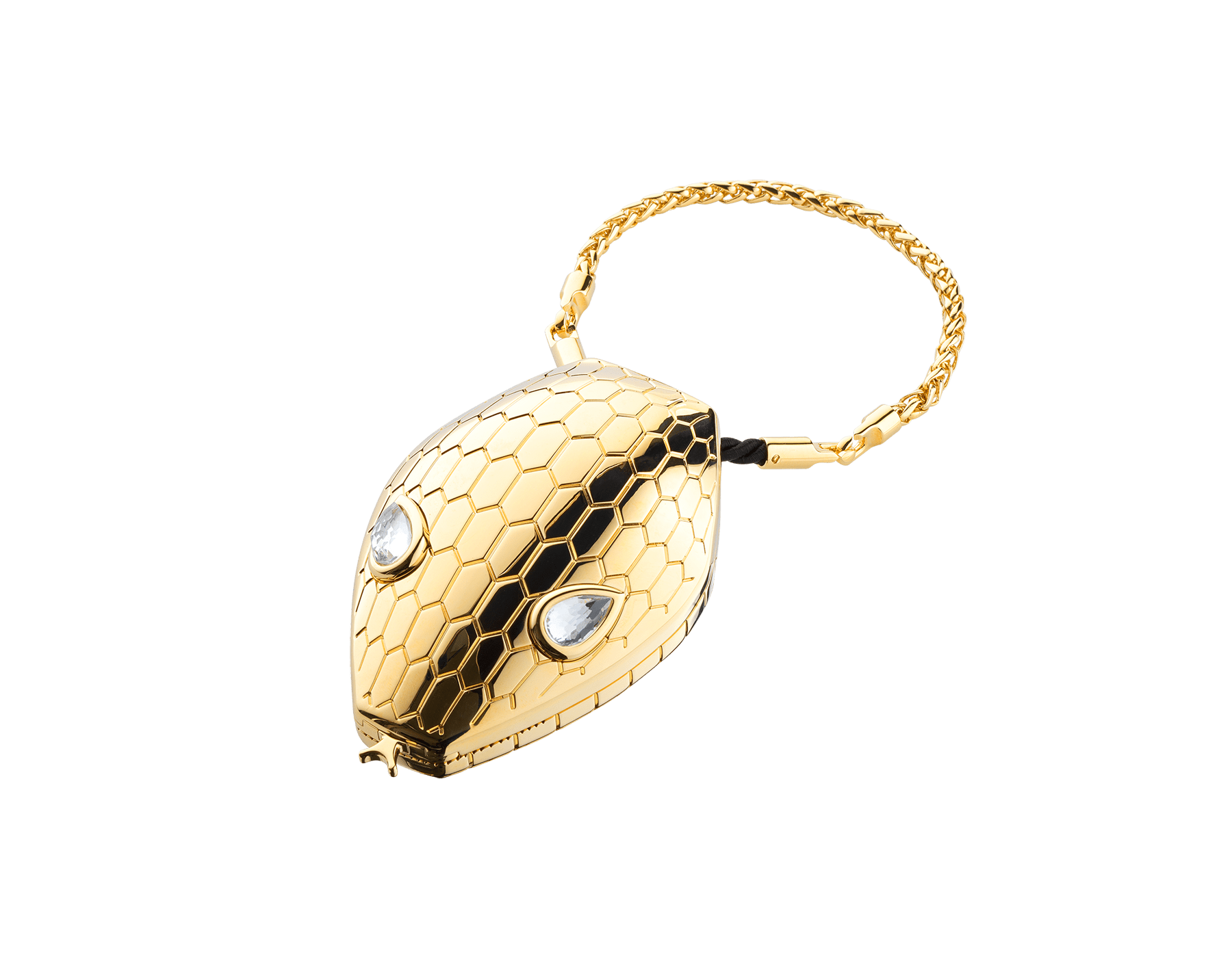 """""""Mary Katrantzou x Bvlgari"""" minaudière in gold-plated brass, finished with seductive crystal eyes. Special Edition. MK-1158 image 2"""