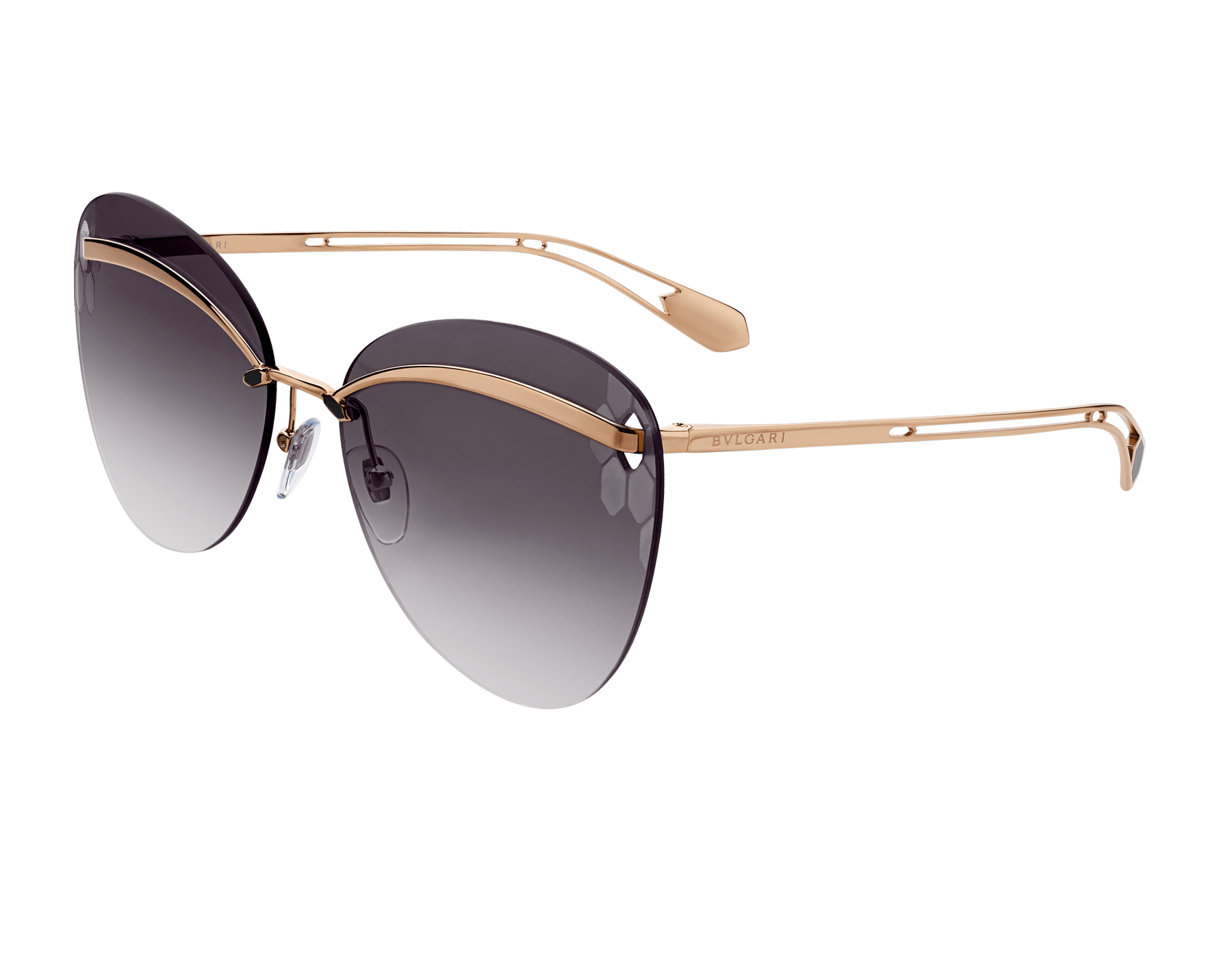 Bulgari Serpenti Flyingscale butterfly metal sunglasses. 903897 image 1