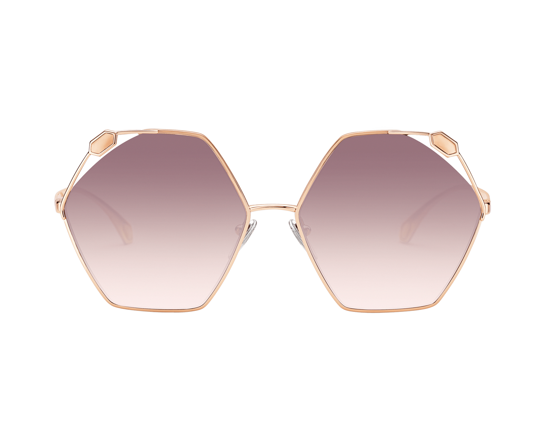"Serpenti ""True Colours"" hexagonal metal sunglasses 904068 image 2"