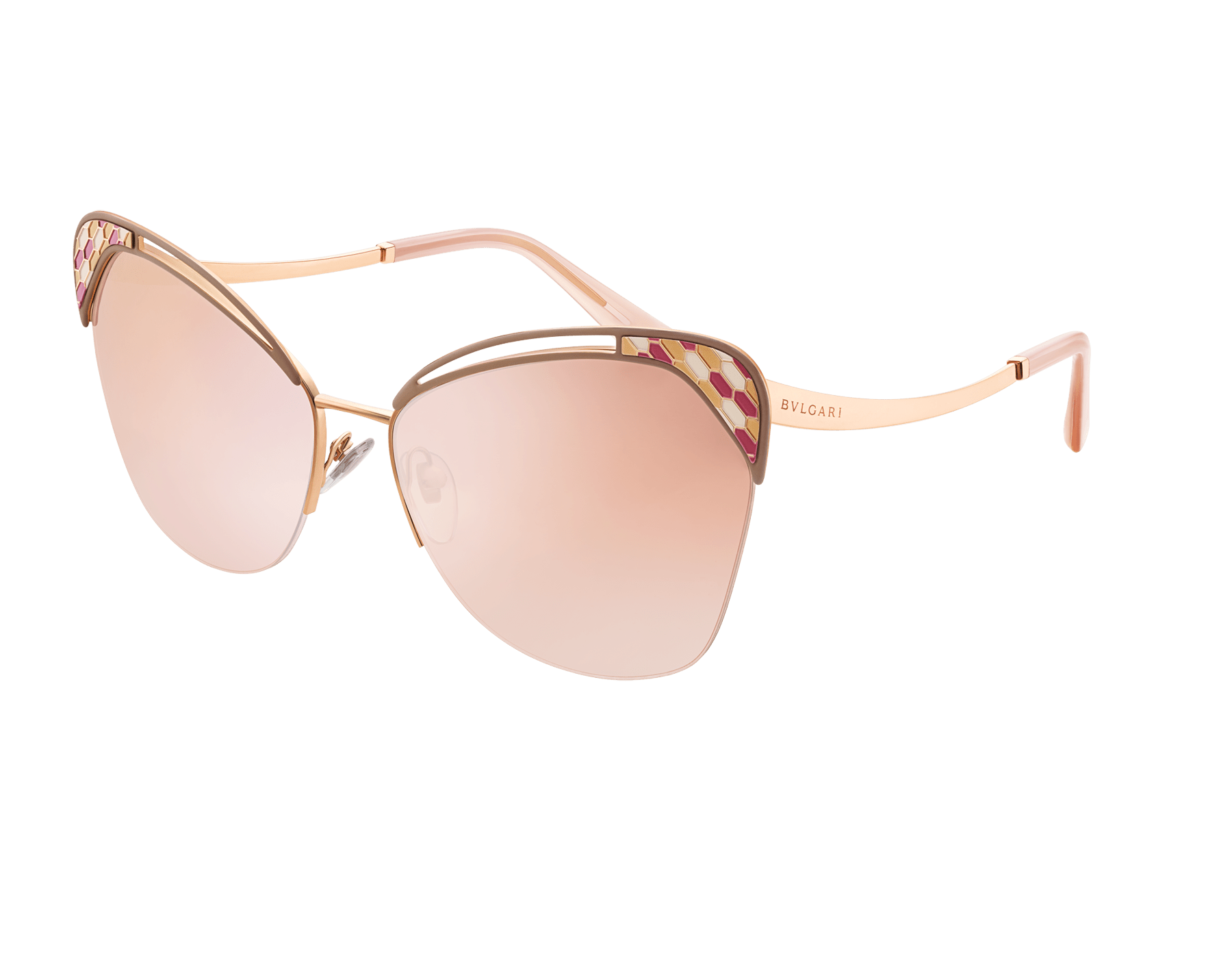"Serpenti ""Colourhapsody"" metal butterfly sunglasses 904071 image 1"