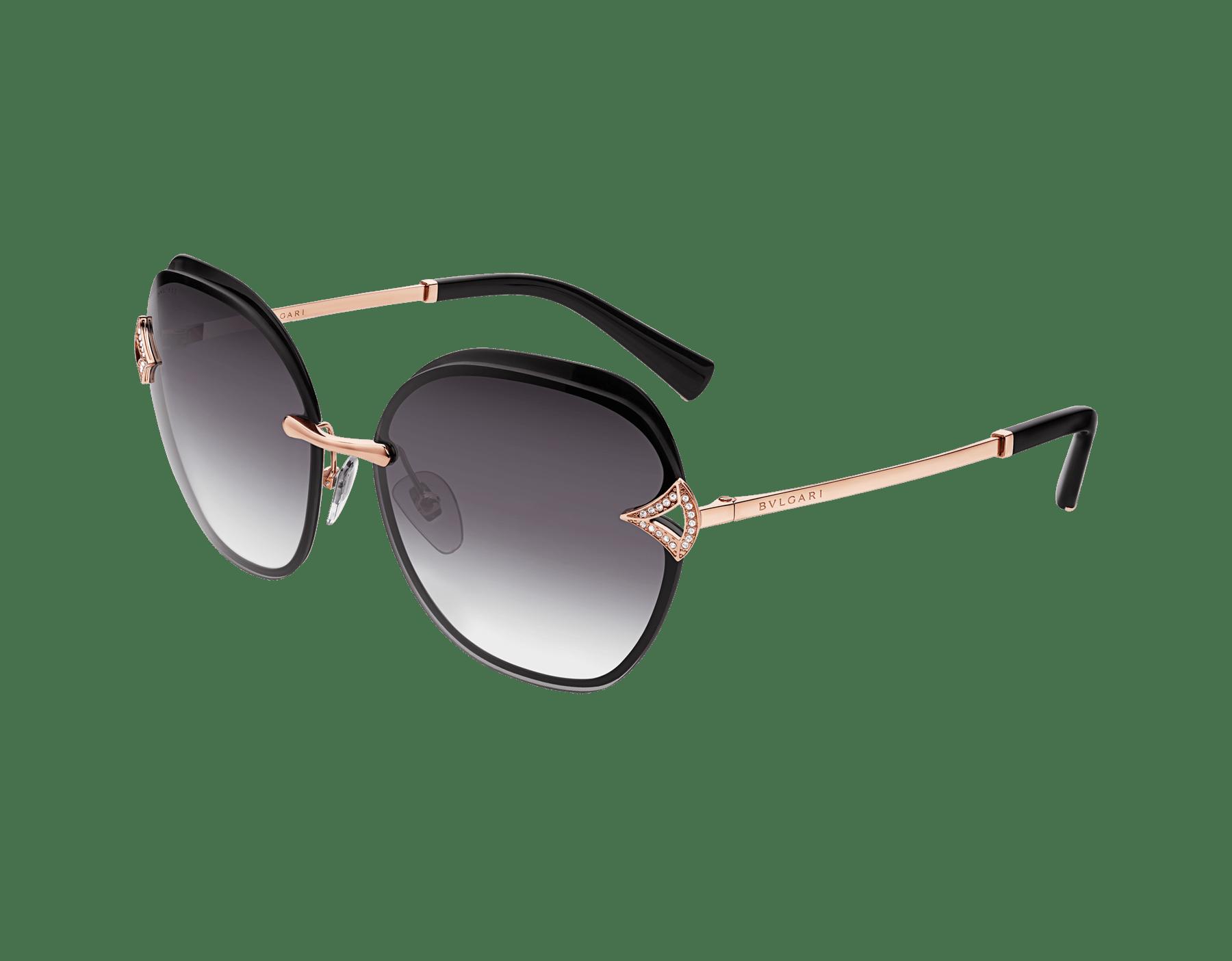 Bvlgari DIVAS' DREAM angular squared metal sunglasses 903667 image 1