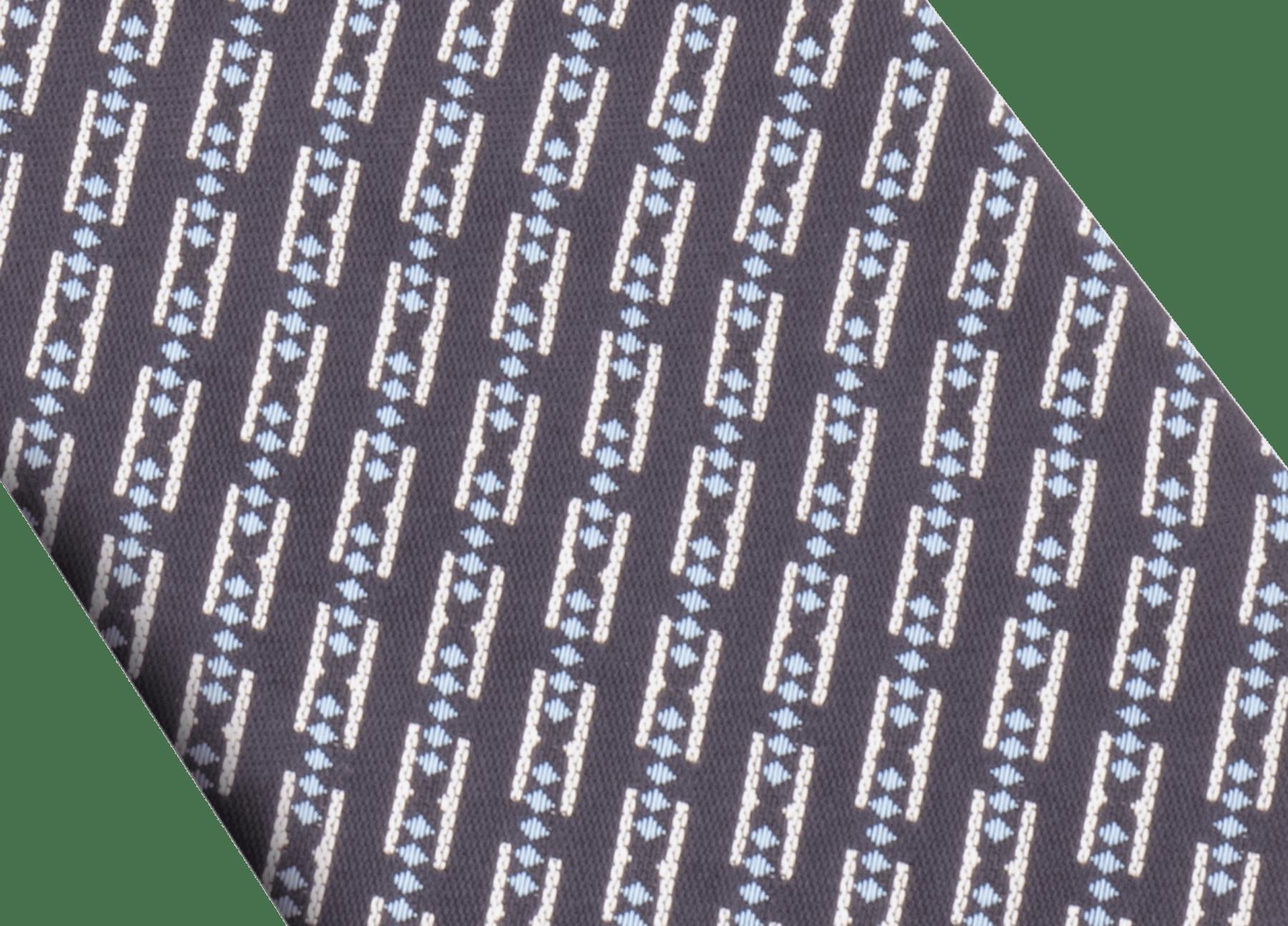 Rote doppelseitige Double BZero3D Krawatte aus feiner Seide. DOUBLEBZERO3D image 2