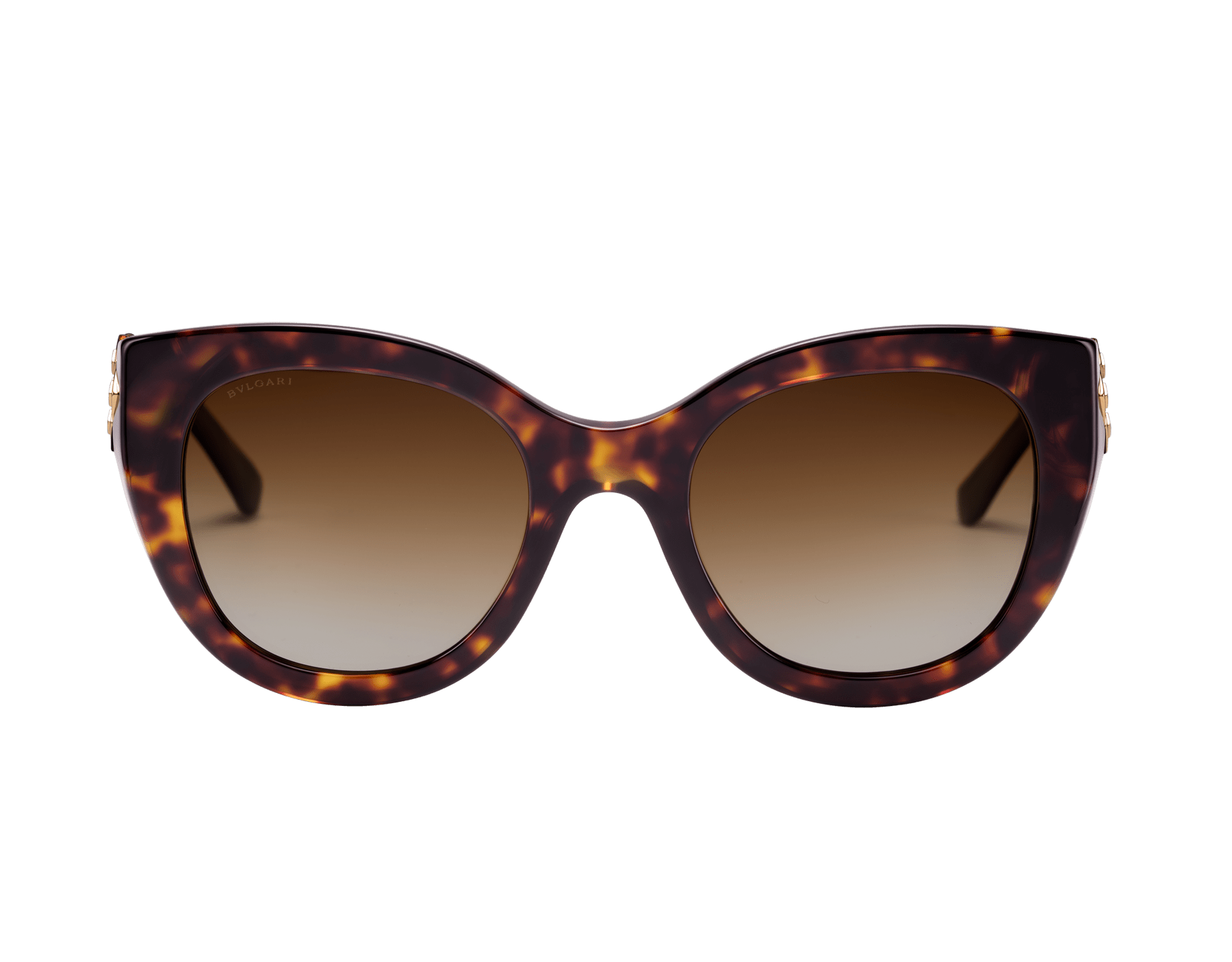 Bvlgari Serpenti squared bold acetate sunglasses with Serpenti metal décor and crystals. 903742 image 2