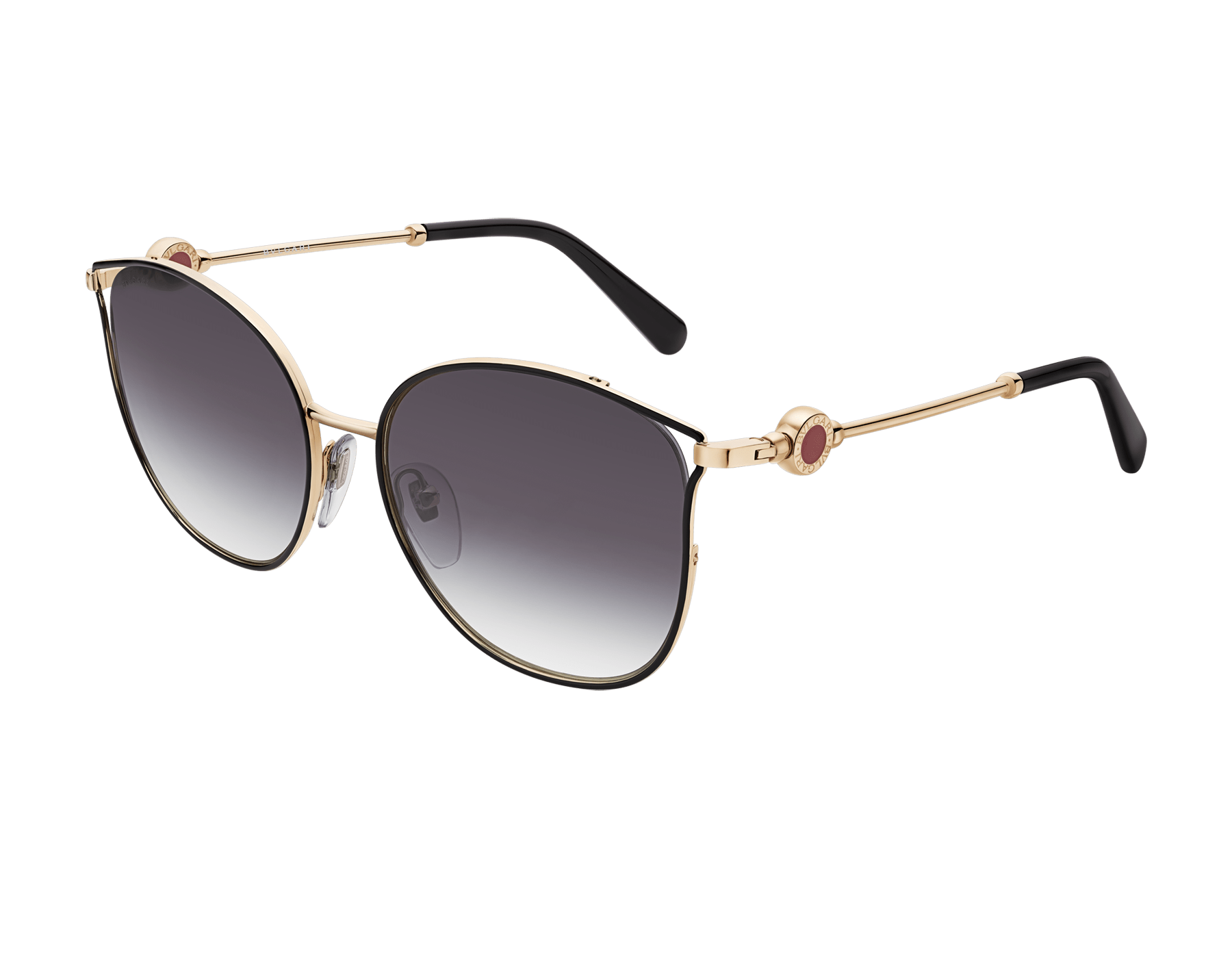 BVLGARI BVLGARI rounded cat-eye metal sunglasses 903663 image 1
