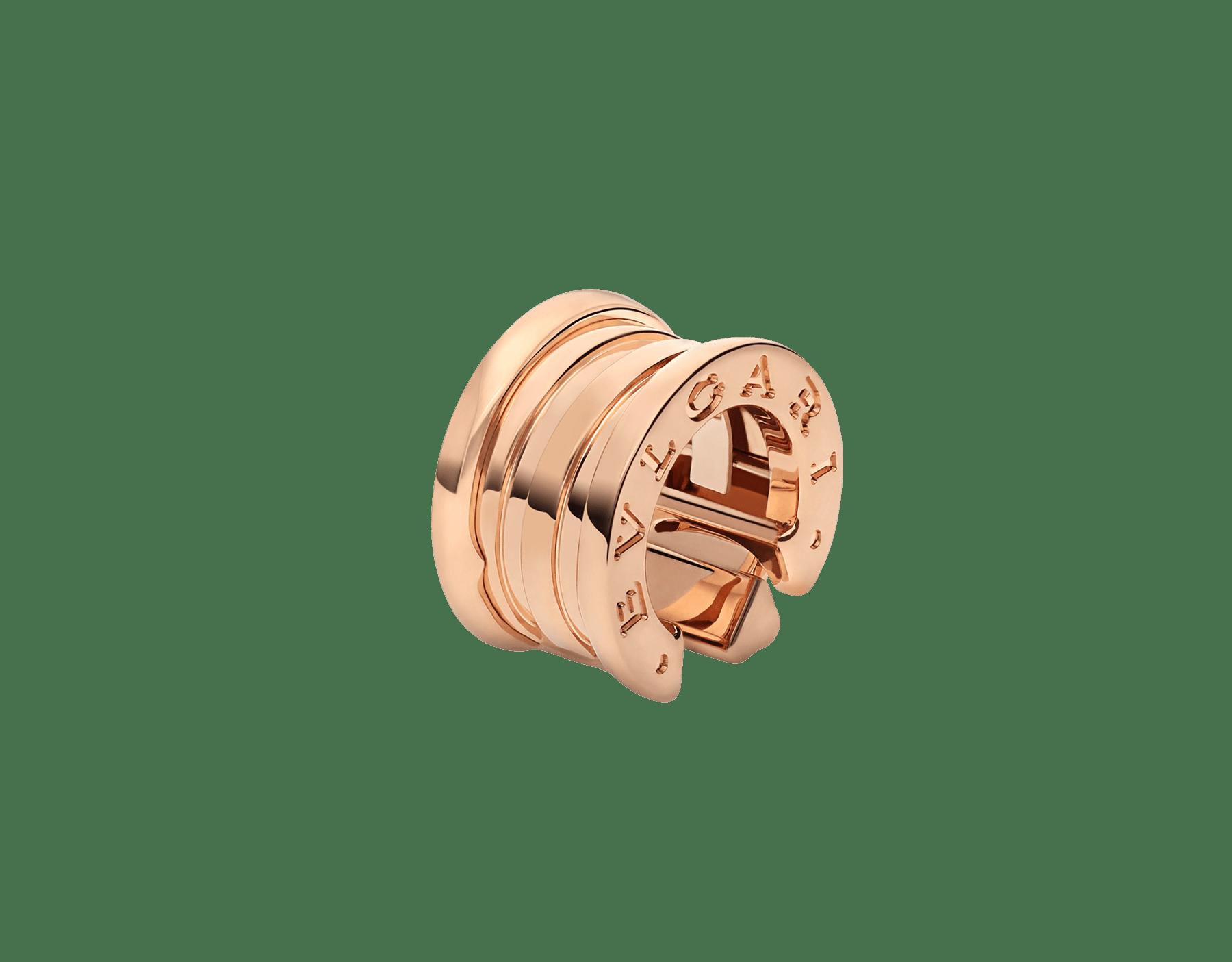 Boucle d'oreille unique B.zero1 en or rose 18K 356163 image 1
