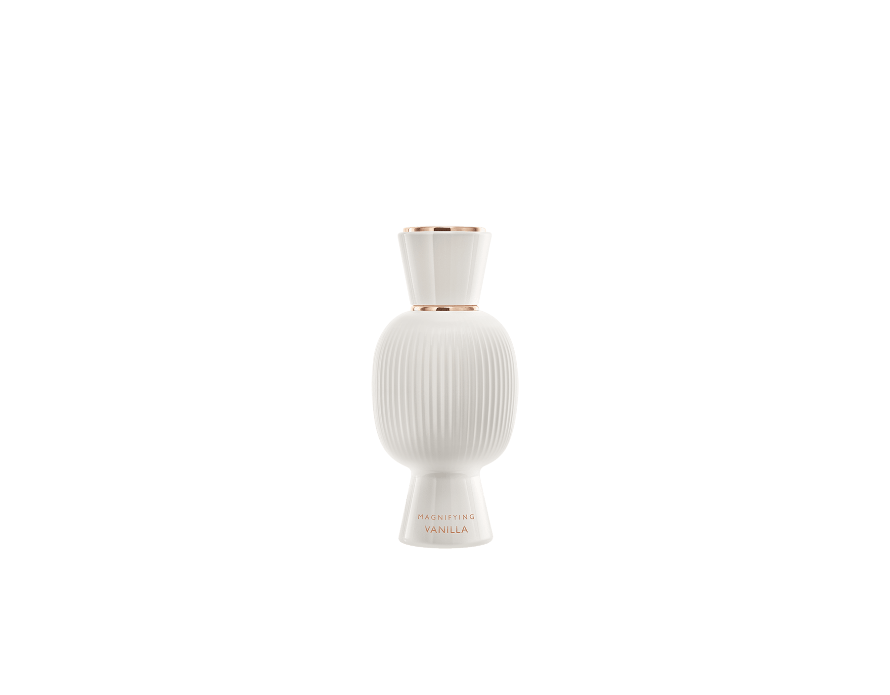 An exclusive perfume set, as bold and unique as you. The magnificent floral Fiori d'Amore Allegra Eau de Parfum blends with the addictive aroma of the Magnifying Vanilla Essence, creating an irresistible personalised women's perfume. Perfume-Set-Fiori-d-Amore-Eau-de-Parfum-and-Vanilla-Magnifying image 3