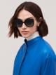 Bulgari Fiorever acetate squared sunglasses. 904011 image 3