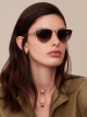 "Bvlgari B.zero1 ""B.minivibes"" metal cat-eye sunglasses. 904027 image 3"