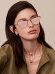 """Gafas de sol Bvlgari B.zero1 """"B.minivibes"""" de ojo de gato en metal. 904028 image 3"""