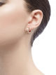 B.zero1 small earrings in 18 kt rose gold. 345506 image 3
