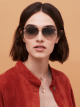 Bulgari Fiorever double bridge aviator sunglasses. 904001 image 3
