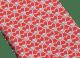 レッドのディーヴァ ハート セブンフォールドネクタイ。上質なジャカードシルク製。 244406 image 2