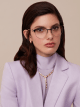 "Bvlgari Bvlgari ""On-Me"" round metal glasses. 904048 image 3"