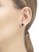 Boucle d'oreille unitaire BVLGARI BVLGARI en or rose 18K sertie d'un élément en sugilite 356428 image 3