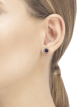 BVLGARI BVLGARI 18 kt rose gold single earring set with sugilite element 356428 image 3