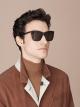 "B.zero1 ""Downtown"" rectangular acetate sunglasses 904076 image 4"