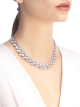 DIVAS' DREAM necklace in 18 kt white gold set with full pavé diamonds. 349444 image 2