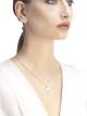 디바스 드림 네크리스. 18kt 화이트 골드 소재에 다이아몬드 파베 세팅 351099 image 3