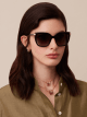 Serpenti squared acetate sunglasses. 903559 image 3