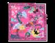 Foulard Jazz couleur Flash Amethyst en twill de soie fin. 243944 image 1