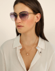 Bulgari Serpenti Flyingscale butterfly metal sunglasses. 903899 image 3