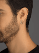 """""""B.zero1 Rock"""" Ohrringe aus 18 Karat Gelbgold mit Spirale mit Nieten und Diamant-Pavé an den Rändern. 357918 image 4"""