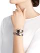 Orologio Serpenti Spiga con cassa in ceramica con trattamento metallizzato, lunetta in oro rosa 18 kt con diamanti, quadrante marrone, bracciale a spirale in ceramica con trattamento metallizzato ed elementi in oro rosa 18 kt. 103060 image 4