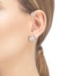 Brinco Fiorever em ouro branco 18K com diamantes centrais (0,30 ct e 0,10ct) e pavê de diamantes (0,22ct) 354529 image 2