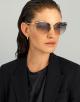 Bulgari Serpenti Serpentine Rainbow Scales cat-eye metal sunglasses. 903902 image 2