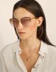 Bulgari Serpenti Flyingscale butterfly metal sunglasses. 903898 image 3