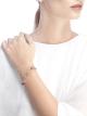 Pulseira DIVAS' DREAM em ouro rosa 18K cravejada com pedras preciosas coloridas e pavê de diamantes BR858404 image 3