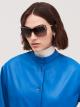 Bulgari Serpenti eye-bite metal shield sunglasses. 903979 image 3