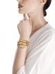 Montre secrète Serpenti avec tête en or jaune 18K sertie de diamants taille brillant, émeraudes taille brillant et yeux en malachite, boîtier en or jaune 18K, cadran et bracelet double spirale en or jaune 18K sertis de diamants taille brillant et d'émeraudes taille brillant. 101999 image 2